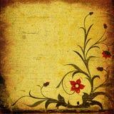 grunge состава флористическое бесплатная иллюстрация