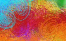 Grunge   текстурированная абстрактная цифровая предпосылка иллюстрация вектора