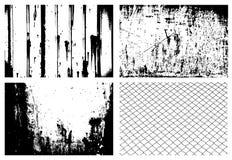 grunge текстурирует вектор Стоковая Фотография