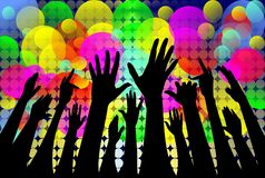 grunge толпы бесплатная иллюстрация