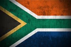 grunge флага Африки южное иллюстрация штока