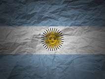 grunge флага предпосылки Аргентины Стоковое Изображение RF
