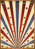 grunge флага старое Стоковое Изображение RF