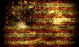 grunge флага Стоковое Изображение