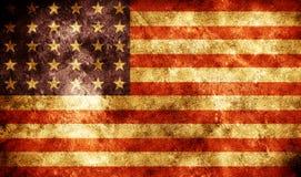grunge флага Стоковая Фотография