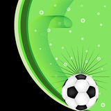 grunge футбола взрыва Стоковые Изображения RF