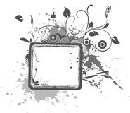 grunge цветка знамен Стоковая Фотография RF