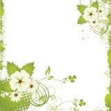 grunge цветка предпосылки славное Стоковая Фотография RF
