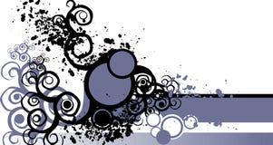 grunge элементов Иллюстрация вектора
