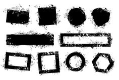 grunge элементов Стоковое Фото