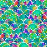 Grunge ярких форм масштабов абстрактный красочный брызгает текстуру Стоковые Фотографии RF