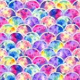 Grunge ярких форм масштабов абстрактный красочный брызгает текстуру Стоковая Фотография