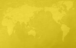 Grunge黄色背景 皇族释放例证