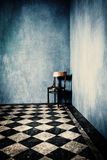 grunge δωμάτιο Στοκ φωτογραφία με δικαίωμα ελεύθερης χρήσης