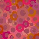 五颜六色的grunge墙纸 免版税图库摄影