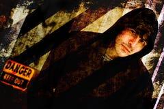 Σκληρός άνδρας Grunge Στοκ Εικόνα