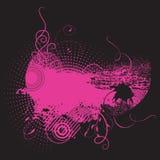 背景颜色grunge粉红色 库存照片
