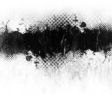 grunge油漆泼溅物 库存图片