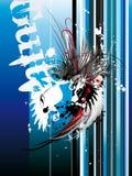 иллюстрация grunge урбанская Стоковые Фотографии RF