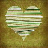 сердце grunge конструкции Стоковые Фото