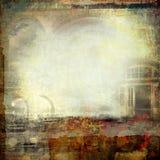 δημιουργικό grunge κολάζ Στοκ Φωτογραφίες