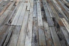 老grunge木头面板 库存图片