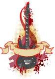 grunge 31 знамени Стоковая Фотография RF