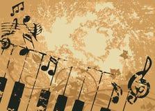 grunge 32 знамен Стоковая Фотография