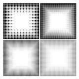 Абстрактные точки полутонового изображения для предпосылки grunge Стоковое фото RF