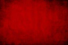 Темный - красная предпосылка grunge Стоковое Изображение