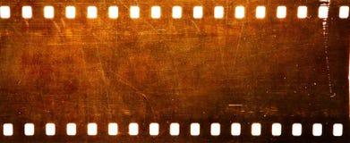 Grunge 35 Millimeter-Film Stockbild