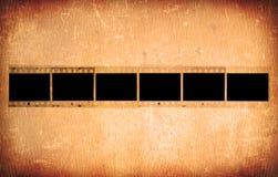 Grunge 35mm照片框架 图库摄影