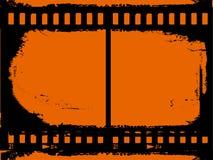 Grunge 35mm achtergrond Stock Afbeeldingen