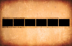Grunge 35mm fotoframes Stock Fotografie