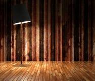 grunge 3d stripes Wand Lizenzfreies Stockbild