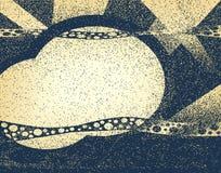 横幅grunge 免版税图库摄影