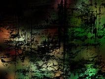 多彩多姿背景黑暗的grunge 向量例证