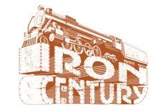 утюг grunge столетия Стоковое Изображение RF