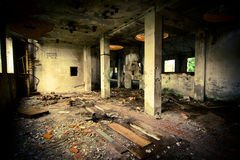 Grunge abandoned building Royalty Free Stock Images