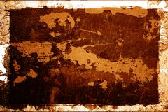 Grunge Abstract Background. Grunge textured metal painted background with border Stock Photography