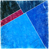 Grunge abstract background. On blue Stock Photography