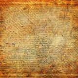 Grunge abstract background. With old letter Royalty Free Stock Images