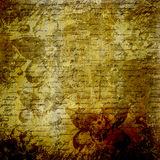 Grunge abstract background. With handwrite text for design Stock Images
