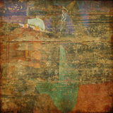 Grunge abstract background card. Art grunge abstract background card Stock Photography