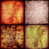 Grunge abstract background collage. Digitally generated image royalty free illustration