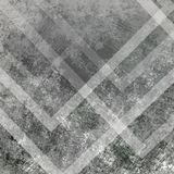 Grunge abstract background. Grey geometric shapes Stock Photography
