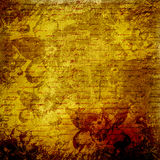 Grunge abstract background with handwrite text Stock Images