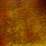 Grunge abstract background with handwrite text. For design Stock Image