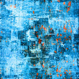 Grunge abstract background with old posters stock photos
