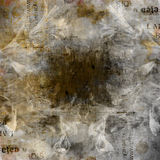Grunge abstract background with old torn posters Royalty Free Stock Photos